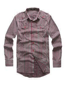 China Fashionable Men′s Slim Fit Shirt (SHM-11) on sale