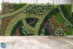 Silk Artificial Plant Wall Personalized Shape Not Dying Apply To All Seasons