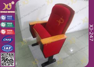 China Sound Absorption Conference Hall Seating Chair With Soft Closing Seat Pad Noise Free on sale