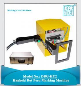 China DBG-HY Portable Handheld Dot Peen PIN Making Machine on sale