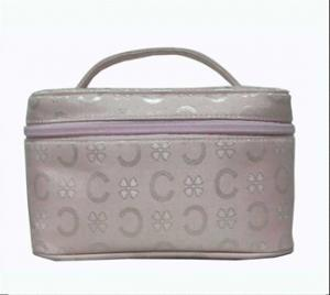 China designer makeup cosmetic bags and cases	with Nylon,PU,PVC,microfiber Material on sale