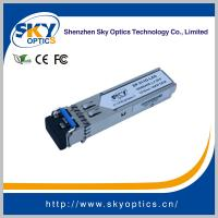 SFP Transceiver 1.25G Converted to MM 1GBE SFP LX 20KM Module