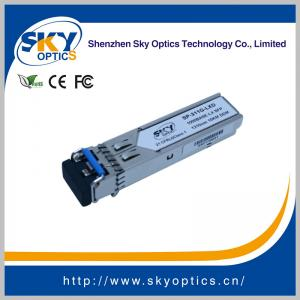 China 1.25Gbps SFP Optical Transceiver Single Mode SFP LX module 1310nm 20km Reach on sale