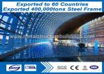 China High Strength Q345 Steel Wide Span Building , Prefabricated Building Structure wholesale
