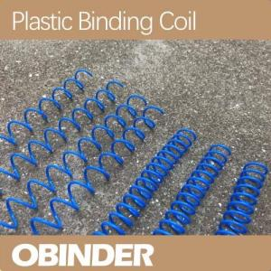 China Plastic spiral binding coil customized pitch on sale