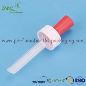 China Plastic Cosmetic 20/410 Essential Oil Dropper With Triangle Pipette on sale