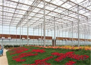 China Stable Transmittance Garden Glass Greenhouse 6mm Polycarbonate Twin Wall Covering on sale