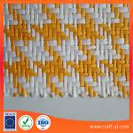 natural raffia straw fabric paper woven cloth supplier from China