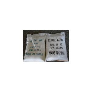 China CAS No.77-92-9 Citric Acid Anhydrous, Citric Acid Food Additives Preservatives R36 / 37/38 on sale