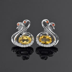 Quality 925 Sterling Silver Earrings Ebay Stud Fancy For