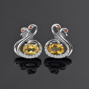Quality 925 Sterling Silver Earrings Ebay Stud Fancy Earring