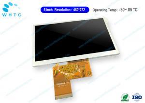 China 24 Bit RGB Industrial LCD Screen 5'' Anti Glare Full HD TFT LCD Panel on sale