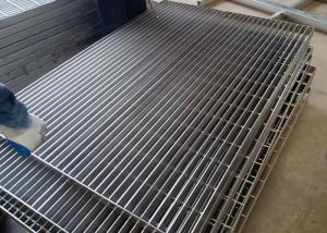 China 15-W-4 Stainless Steel Grating Flat Bar Pressure Welding ISO9001 Certification on sale