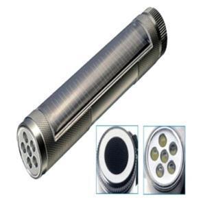 China 6 LEDs Aluminum alloy solar torch on sale