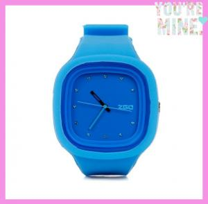 China Customized logo silicone jelly watches,geneva jelly watches removable face on sale