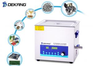 China 10L Timing Professional Ultrasonic Cleaner Power Adjustable Laboratory Cleaning on sale