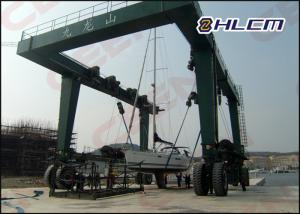 China ISO HM350T 300t  / 600t / 800t  travel lift crane for boat hoisting and boat lifting on sale