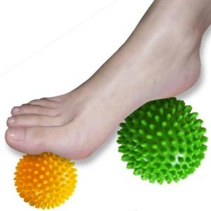 China Spikey Massage Ball Soft for Palm Feet Arm Neck Back on sale