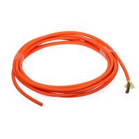 China Orange 8 cores Multimode indoor Fiber Optic Cable for telecommunications on sale