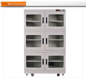 China 136kg W1200*H1820*D695mm 220V/110V PCB Adjustable desiccant dry box For Electronic Component Storage on sale