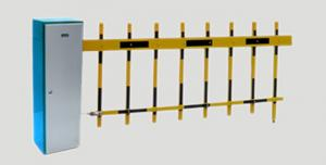 China Electric Remote Control Boom Barrier , Automatic Road Barrier Gate on sale