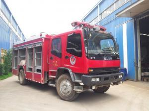 China ISUZU 6T Firefighter Fire Rescue Truck FVR 240hp 6 Wheel Water Tanker Fire Truck on sale
