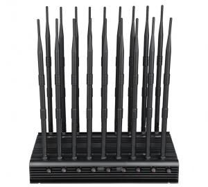 China EST-502F18 Cell Phone Blocker 18 Bands WIFI GPS VHF UHF 315 433 868 Signal Jammer wholesale