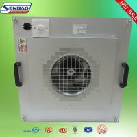 China Équipement de purification de l'air d'unité de filtrage de fan de l'acier inoxydable HEPA pour des épurateurs d'air on sale
