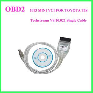 China 2013 MINI VCI FOR TOYOTA TIS Techstream V8.10.021 Single Cable on sale