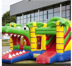 China Shark Inflatable Amusement Park Bouncer Jumping Castle For Kids Party on sale
