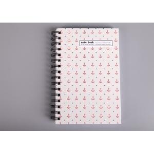 China Hard Cover with Double Spiral Bound Notebook on sale