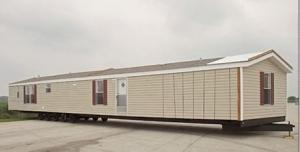 China Foldable Portable Mobile House / Double Wide Mobile Homes With Green Material on sale