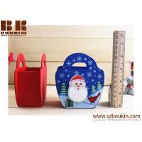 Wooden Christmas House Bowknot Pencil Vase Eco-Friendly Table Mini Wooden Pencil Vase