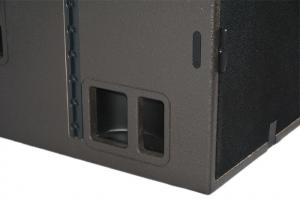 China Dual 18 Inches Conference Audio System SB28 Loud Bass  Subwoofer Low - Distortion Driver on sale