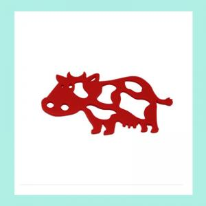 China animal shape silicon table mats  ,fashionable  silicone pot pads on sale