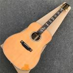 2019 New Custom Electric Acoustic Guitar Solid cedar top D style Acoustic Guitar