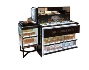 China Makeup Display Table Makeup Shop Equipment on sale