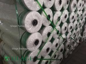 China 1.23m*2000m White Color Silage Bale Wrap Net on sale