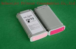 China HP Designjet z2100 Printer Compatible Ink Cartridge with Permanent Chip on sale