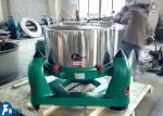 High Speed Tripod Industrial Centrifuge Machine With Manual Batch Discharge