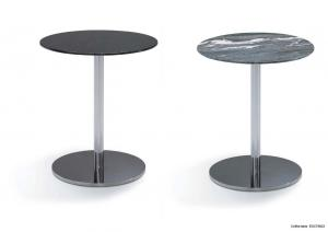 Quality Black Marble Top Side Table,  Living Room Round Marble Coffee Table ,  Round table for sale