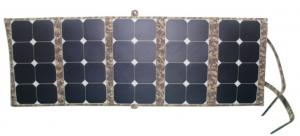 China Emergencies Solar Panel Charger 130W , Rechargeable Solar Charger ISO CE on sale