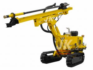 China Hydraulic Crawler Dth Rock Drill Rig For Blast-Hole Drilling Jk580 on sale