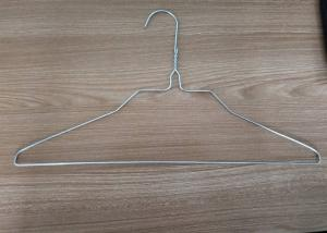 China 18 inch 2.0mm galvanized iron wire shirt hanger for laundry one-time use on sale