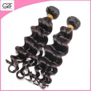 China Factory Price Cheap Brazilian Hair Bundles Light Brown Hair Weave Loose Deep Wave on sale