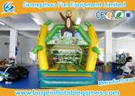 4 * 3 M PVC Tarpaulin Inflatable Air Bouncer Monkey Jumping Area House