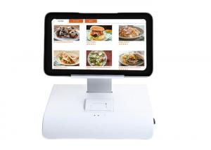 China 10 Inch Tablet Touch Screen Android POS System With Thermal Printer For Restaurant on sale