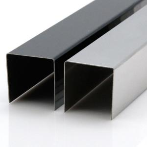 Quality SS 201 304 Grade Stainless Steel Square Edge Trim For Stair Edge  And Corner For ...
