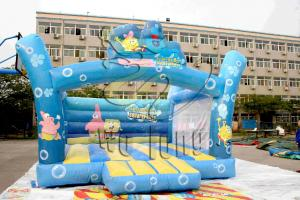 China 2014 Creative Cartoon Style cheap commercial inflatable bouncers for sale on sale