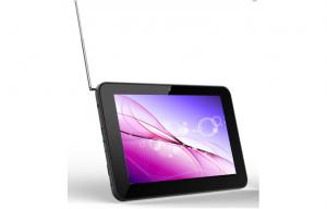 China 7 Dual core Mali400 Tablet PC / ATSC TV with dual camera Front 0.3MP + Rear 2MP on sale